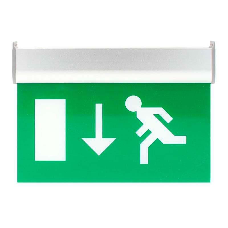Luz de emergencia permanente signaled exit blanco fr o - Luz de emergencia precio ...
