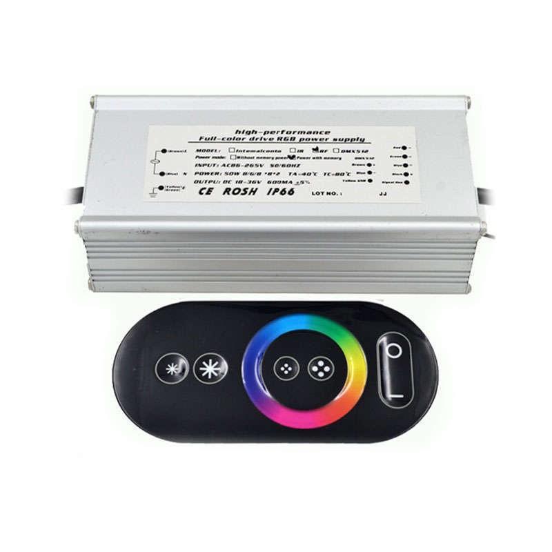 Proyector led de exterior microled 50w rgb rf rgb for Precios iluminacion exterior