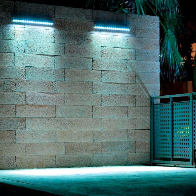 Proyector led lineal rgb dmx512 24w dc24v 1m rgb for Precios iluminacion exterior