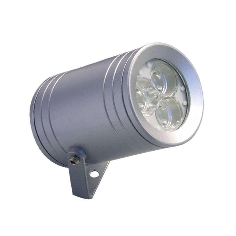 Aplique de exterior led nexus 9w blanco fr o focos de for Precios iluminacion exterior