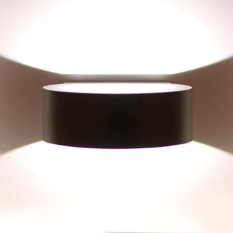 Aplique led grunk round cree 6w blanco neutro for Precios iluminacion exterior