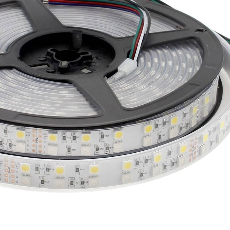 Tira led epistar smd5050 rgb nw dc24v cc 5m 120led m - Precio tira led ...