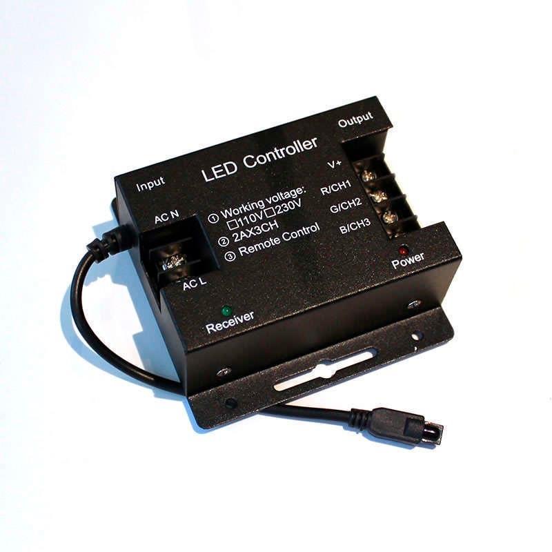 Controlador ir tira led 220v rgb 1200w tiras 220v led - Precio tira led ...