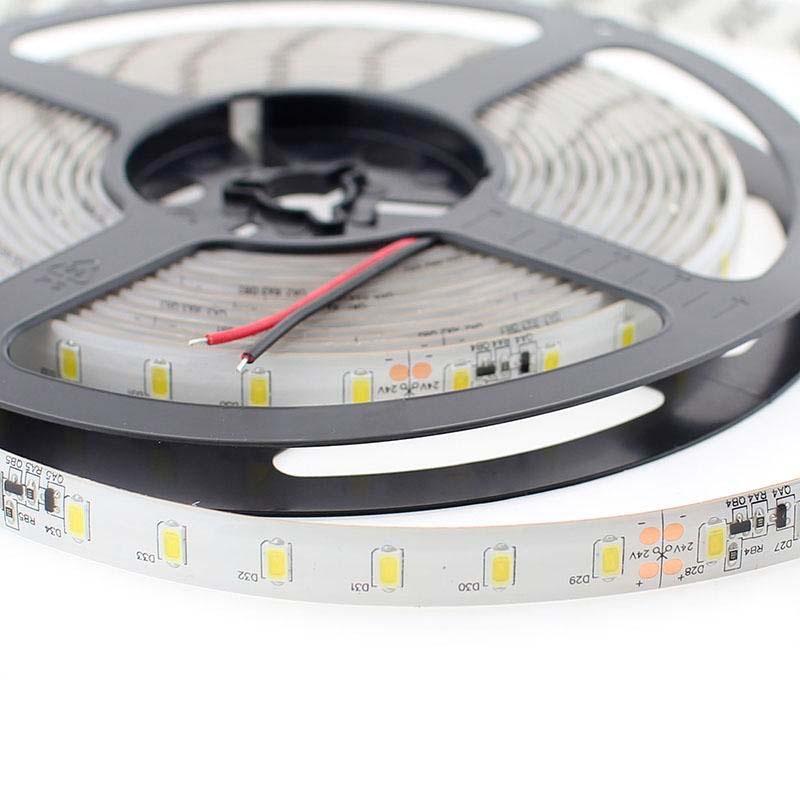 Tira led smd5630 dc24v cc 5m 70 led m sensor - Precio tira led ...