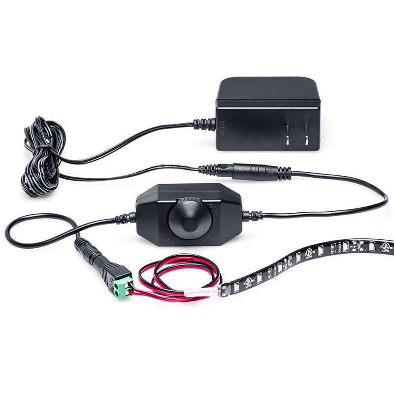 Controlador para tira led monocolor dimmer negro - Precio tira led ...
