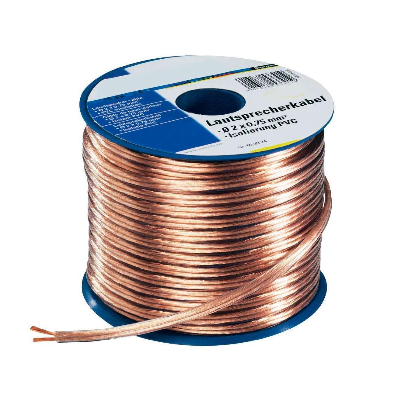 Cable transparente 2x1 5mm gold 1m accesorios tiras for Precio cable 2 5mm
