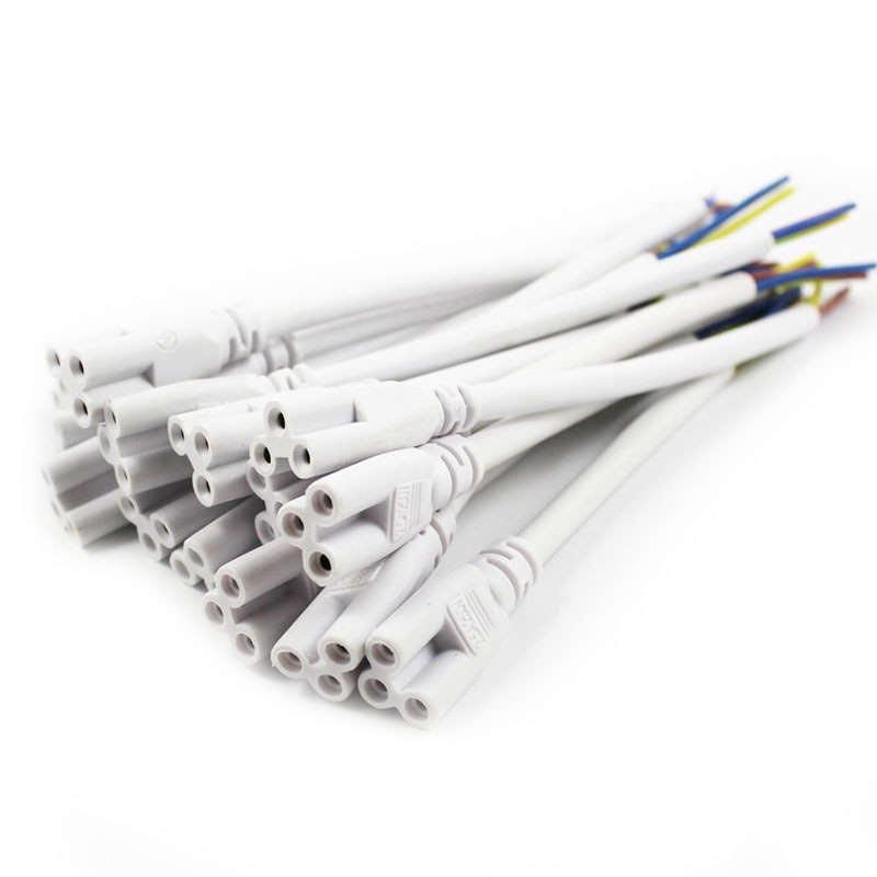 Cable conector x1 para tubos t5 t8 15cm tubos - Tubos para cables ...